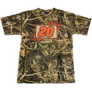 Tony Stewart NASCAR Camouflage T-shirt Size Large
